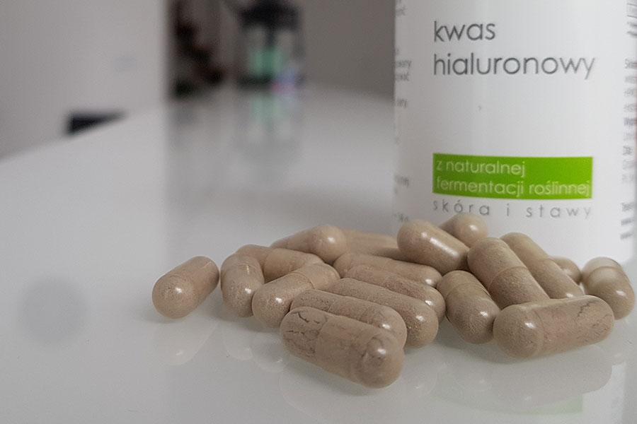 Tabletki z kwasem hialuronowym